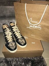 Christian Louboutin Orlato Python Men's Sneakers GRAB BARGAIN!! 40.5 With Box