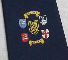 Brooke w&dfl Tie retrò vintage FOOTBALL LEAGUE ANNI'70 anni'80 crest emblem Sports