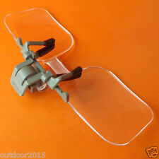 Acrylic lenses Eye Glass Clip On Flip Loupe Magnifying Glass Magnifier