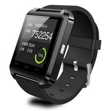 Bluetooth Smart Wrist Watch Phone Mate For IOS Android iPhone Samsung Black US