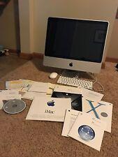 """Apple IMac 9.1 Intel Core 2 Duo 2.66 Ghz 4GB AllInOne 24"""" Desktop Mouse Keyboard"""
