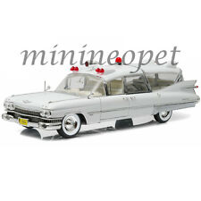 GREENLIGHT 18004 PRECISION COLLECTION 1959 CADILLAC AMBULANCE 1/18 ALL WHITE