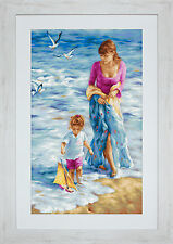 "Luca-S Cross Stitch Kit ""precioso momento"" en Aida"