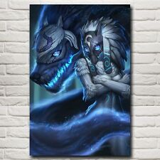 Kindred League Of Legends LoL Game Art Silk Poster 24x36 inch