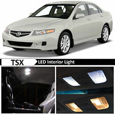 12x White Interior LED Lights Package Kit for 2004-2008 Acura TSX + TOOL