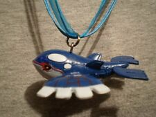 Pokemon Kyogre Anime Figure Charm Necklace Cool Kawaii Cute Collectible Jewelry