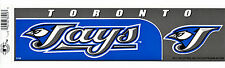 TORONTO BLUE JAYS MLB LICENSED BUMPER STICKER NEW