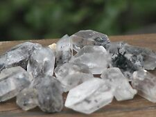 Raw Tibetan Quartz Crystals  x 5 Pieces Double and Single Terminated