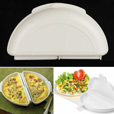 Microwave Omelet Mold Poach Cooking Cooker Pan Maker Egg Poacher Kitchen Tool Uk