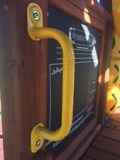 """Swing Set 11"""" METAL Yellow """"Easy Grip"""" Safety Handles Parts"""
