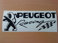 peugeot racing flag vinyl car stickers decals graphic sport gti 106 206 306 307