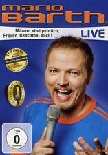 """MARIO BARTH """"MÄNNER SIND PEINLICH FRAUEN..."""" DVD NEU"""