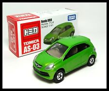 TOMICA AS-03 HONDA BRIO GREEN 1/61 TOMY Sold in Asia Market Except Japan