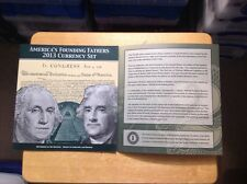 """ 2013 ""  AMERICA'S FOUNDING FATHERS  CURRENCY SET. Sold Out from BEP"