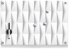 Glas Memoboard 60 x 40cm Magnettafel Whiteboard Schreibtafel Wandtafel 258215
