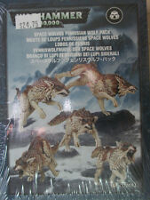 Warhammer 40K Space Wolves Fenrisian Wolf Pack (53-10)  NEW