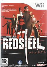 RED STEEL for Nintendo Wii - with box & manual - PAL