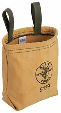 Klein Tools 5179 Water-Repellant Canvas Pouch - Belt Loops