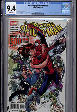 AMAZING SPIDER-MAN  # 500   J SCOTT CAMPBELL CGC 9.4