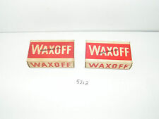 2 Vintage Boxes of Waxoff Floor Cleaning Compound