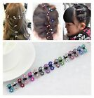 Lots 10 PCS Wholesale Girl Women Clamps  Mini Hair Claws Clips Crystal Flower