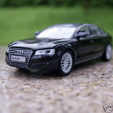 Audi A8 Alloy Diecast 1:32 Car Model Sound & Light Toys Gifts Black Color Toys
