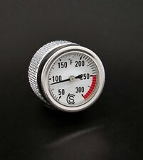 Ducati Scrambler 800 Oil Temp Gauge Fahrenheit Silver Monster 796 696