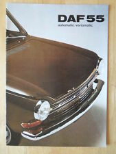 DAF 55 Saloon Automatic / Variomatic 1971 original UK Market brochure