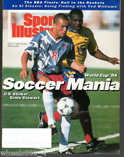 1994 Sports Illustrated World Cup USA Ernie Stewart Subscription Issue Exc*