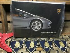 2014 LAMBORGHINI AVENTADOR LP 700-4 ROADSTER OWNERS MANUAL (BUY OeM) ((SEALED))