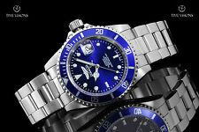 Invicta 40mm Pro Diver Blue Dial Stainless Steel Automatic Bracelet Watch 9094OB