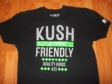 XL mens womens STONER Apparel KUSH Friendly T-Shirt WEED Marijuana Pot KF