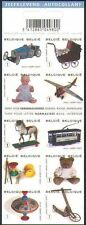 Belgium**VINTAGE TOYS-TRAIN-HORSE-DOLL-TEDDY BEAR-Booklet 10vals-2008-Jouets-MNH
