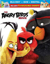 The Angry Birds Movie (Blu-ray/DVD/Digital) New/Sealed w/Slipcover