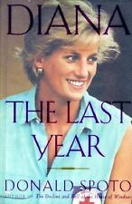 The Last Year by Ronald Spoto - Princess Diana - Hardcover