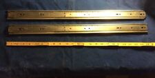 "Accuride Drawer Slide (2) C 2907-24 24"" Length Nos For Use On Electronic Chassis"