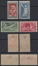 Syrien Syria 1924 */MLH Mi.254/57 Olympische Spiele Olympic Games ovpt. [st1018]