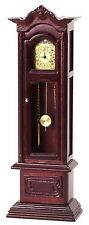Dollhouse Miniature 1:12 Scale Grandfather Clock, Working #T3316