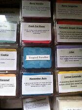 Pick 3 Soy Highly Scented Wax Tart Warmer Melts Assorted scents! NEW SCENTS