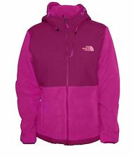 New The North Face Womens Denali Hoodie Jacket fleece Medium Pink nwt