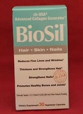 Natural Factors Biosil Hair Skin Nail 30 Veg Caps Advanced Collagen Generator