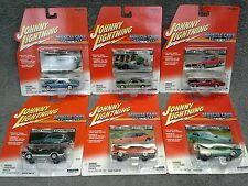 Johnny Lightning MUSCLE CARS USA 6 Car Mercury Lot MOC/MIP Group from 2001-2002