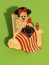 MINNIE MOUSE - DISNEY - AMERICAN FLAG - NO MICKEY MOUSE - PIN´S PIN BADGE (E46)