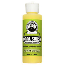 Uncle Harry's Oral Swish Oil Pulling for Treatment Teeth & Gums  (4 fl oz)