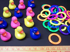 10 FLOATING DUCKS POND GAME CHILDS ACTIVITY 10 RINGS TOSS CARNIVAL PARTY SCHOOL