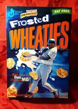 FROSTED WHEATIES VINTAGE CEREAL BOX KEN GRIFFY JR (NEAR MINT) *