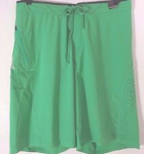 RIP CURL Mens 32 Ultimate Mirage ES3 Aggrolite Surf Board Shorts Lime Green New