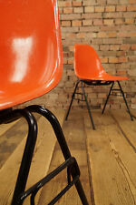 ORIGINALE Charles Eames vetroresina Side Chair sedia DSX Herman Miller Orange 1/10