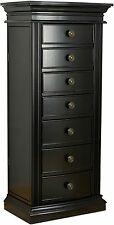 Hives and Honey Landry Black Jewelry Armoire