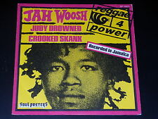 45 tours SP - JAH WOOSH - JUDY DROWNED  - 1974 - REGGAE